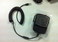 Wholesale DHL Radio Transceiver Handset for iPhone plus and Most Smart Phones Shoulder Speak Mic Walkie Talkie