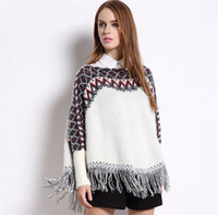 angora wool for knitting - Angora Blended Cashmere Knitting Sweater for Women Cloak Pullover Womens Cardigan Long Sleeve pull femme hiver Winter