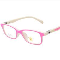 baby eyeglasses - New Healthy Safety Kids Eyeglasses Frame Cute Baby Boys Girls Optical Eyewear Reading Glasses Eyeglass Frame etj a16