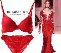 Wholesale NEW VS no logo Sexy gathered Lace Lingerie bra set lingerie Women Sexy Lingerie Lace bra Set Colors