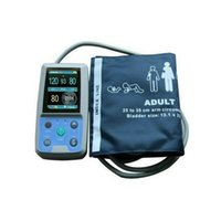 Wholesale 2pcs DHL CE FDA approved Fully Automatic Ambulatory Digital Blood Pressure Monitor Patient Monitor ABPM50 monitor NIBP