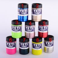 Wholesale All the Colors for oz Yeti Mug Cup Bilayer Stainless Steel Insulation Large Capacity Mug