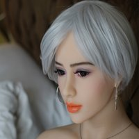 silicone adult doll sex doll - 158cm Lifesize Full Silicone Sex Dolls For Men Solid Silicene Love Dolls Metal Skeleton TPE Adult Sex Toys For Man