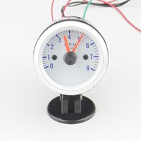 Wholesale 2 quot mm Car Rev Counter Tachometer Pointer Gauge gauge RPM pods Call the police Rotation Set up