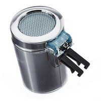 Wholesale DHDL Portable Car Vehicle Air Vent Auto LED Light Cigarette Smokeless Ashtray Holder Silver Car Ashtray