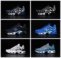 air material - 2016 New Max TN Men s Running Shoes Nanotechnology KPU Material Classical Durable Air Sport TN Sneakers Eur