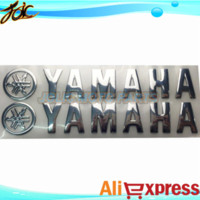 aluminum ha - Motorcycle Stickers for yama ha logo motocross Sticker and decals moto parts car styling for yama ha Professional