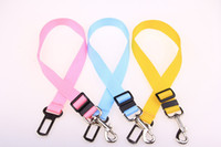 belt suppliers - Quick Release Nylon Pet Dog Cat Adjustable Car Safety Belt Collar Environmental Protection Leads Accessories Suppliers WA0666