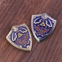 african shield - Hot Game The Legend of Zelda Shield Brooch Metal High Quality Environmental Jewelry Best Gift Zelda Brooch