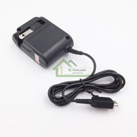 Wholesale US Chargers Adapter for GBM Best Quality Black Plug Power Supply Adapter Home Wall AC Adapter Replacement for Nintendo Gameboy Micro Game