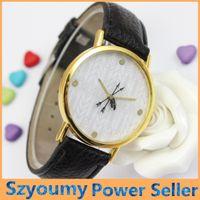 arrow watches - 2016 Newest Fashion Casual Arrows Strap Watch Unique Cupid Arrow Watch For Boyfriend Girlfriend Leather Strap Wrist Watch