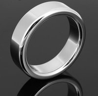 Wholesale 6 mm wide Stainless steel cock ring with Delayed Ejaculation sizes glans ring for men stay hard