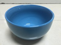 Wholesale tableware colour brief noodle bowl inch bowl Chinese Porcelain solid rounded stoneware health colour glazed promotional bowl