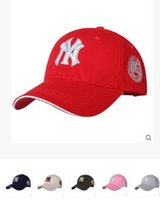 Wholesale 10 Color Yankees Hip Hop MLB Snapback Baseball Caps NY Hats MLB Unisex Sports New York Adjustable Bone Women casquette Men Casual headware