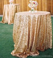 airlines cheap - Cheap Rose Gold Bling Bling Sequins Wedding Decorations Table Cloth Glitter Evening Bridesmaid Prom Party Dress Fabric