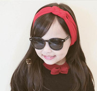 Wholesale BABY cotton cloth headbands lovely hairband hair accessoriew fashion