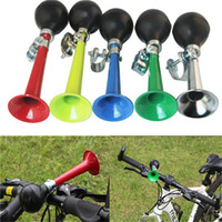 Wholesale Bicycle Bike Cycling Retro Metal Air Horn Hooter Bell alarm Bugle Rubber Squeeze Bulb Light Metal Material