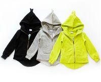Wholesale 2016 new kids coat fall and winter coat for girls and boys coat cute babies dinosaur coat sweater coat CC0001
