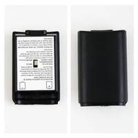 achat en gros de xbox manette sans fil shell gros-Batterie Pack Cover Shell Shield Case Kit pour Xbox 360 Wireless Controller Wholesale