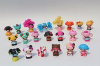 baby girl figurines - boneca set Different Styles Figurines cm MGA MINI Lalaloopsy Juguetes PVC girl toys Mini Doll Gift Kid toy