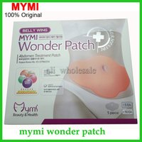 Wholesale Wonder patch pack MYMI Wonder slim patch slimming belly Patches Gel Belly patch Loss Weight fat burning Products Waist Slim Patches