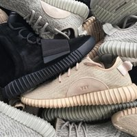 Wholesale yeezy shoes Wailly Original Yeezy Boosts Shoes Grey Moonrock Black Tan Yeezy Red YEEZYS SHOES SIZE US Outdoor Light Running Shoes