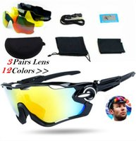Wholesale New Fashion Lens Brand Polarized Jawbreaker Sunglasses For Men Women Sport Cycling Bicycle Running Mens Sunglasses AAA