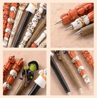 Wholesale New office supplies hot sell resin Christmas Halloween gifts ball point pens creative personality style Ballpoint Pens A0265
