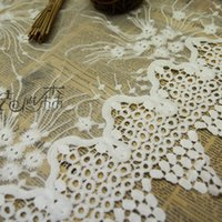 Wholesale 5Yards African Net Cord Lace High Quality French Fabric Embroidery White Swiss Lace Fabric For Nigerian Wedding Lace Fabric