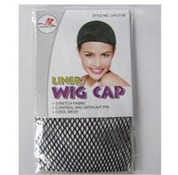 Wholesale 2016 New black Breathable stretchable elastic hair nets snood wig cap cool mesh cosplay