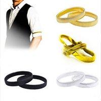 alloy spring steel wire - Spring hand bracelet bracelet men s steel wire anti slip sleeve hoop arm with Europe and America explosion models