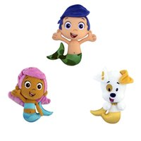 Wholesale 2016 Bubble Guppies Style Puppy Gil Molly Deema Dolls amp Accessories Plush Toys
