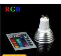 El punto al por mayor LED de la lámpara de la alta tecnología LED del color del proyector GU10 E27 / E14 / MR16 16 de 9W RGB LED teledirigido libera el envío