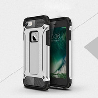 Wholesale Hot Heavy Duty Armor Cover Case of TPU PC Armour ShockProof phone Case For Iphone SE s s Plus