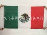 Wholesale Mexico flag cm double sided manufacturers direct Amazon supply