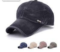 Wholesale Korean men s golf caps baseball cap washed cotton duck tongue hat outdoor sports cap spring and autumn