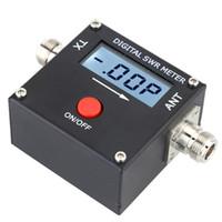 Wholesale Mini Digital LCD SWR Standing Wave Ratio Watt Power Meter for HAM Mobile VHF UHF W