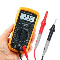 ac current detector - HYELEC MS8233C Digital noncontact Multimeter AC DC Voltage Current Capacitance Frequency Temperature Tester multimeter detector