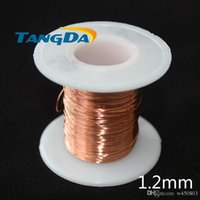 Wholesale Tangda Diameter mm Polyurethane Enameled Wire QA UEW g Copper cable welding Repair Magnet Wire Magnetic Coil Winding B12