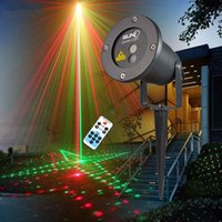 Wholesale Remote Red Green Patterns Latest Laser Light Christmas Outdoor Waterproof Laser Garden Party Projector Landscape decorative Lights Show