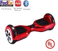Wholesale global unique Hoverboard Inch Electric Scooters Smart Balance Wheel Drifting Board Self Balancing Scooter Skateboard