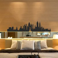 art deco people - New York City Skyline Vinyl Wall Stickers America USA Places Wall Art Decal Deco