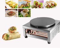 crepes machine - 220V New VP Electric Crepe Maker Non Stick Stainless Steel Pancake machine