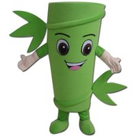Wholesale High Quality Plant Costume Suit Bamboo With Smiley Face Mascot Costume Suit Botanic Garden Activity Suit