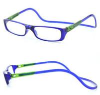 Wholesale 2016 New arrival Fashion Men Women Magnetic Reading Glasses Presbyopia Reading Eyewear