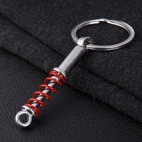 absorber plate - Shock Absorber Keychains Auto Car Engine Pistons Key Chains Metal Auto Parts Key Rings Car Gift
