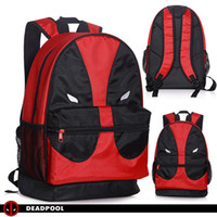 Wholesale 2016 Deadpool Cosplay Bag Travel Backpack Trip Bag Leisure Backpack Rucksacks School Backapack Canvas Student School Bag travel backpack Big