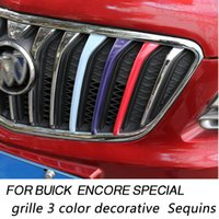 Wholesale for buick encore special grille color decorative Sequins for buick special auto grid molding Aluminum alloy Car Grills decorative