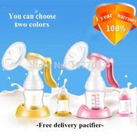 Wholesale avent Breast milk pumps baby nipple suction nipple pump beb women Feeding Manual Breast pump New Hot Sale