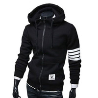 Wholesale 2017 NEW Fashion Men Hoodies Brand Suit High Quality Men Sweatshirt Hoodie Casual Zipper Hooded Jackets Male M XL M3